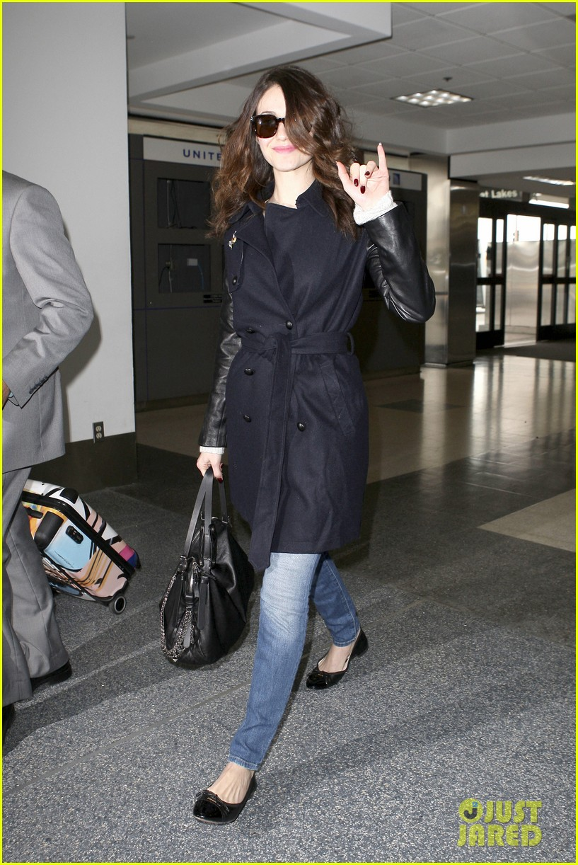 emmy rossum blizzard bound for new york city 01