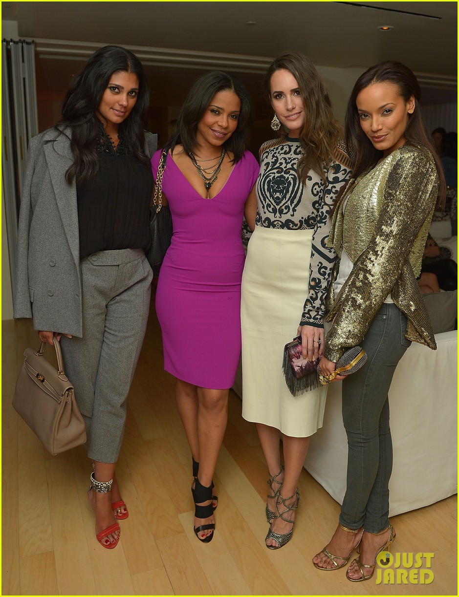 anne v rachel roy louise roe fashion star dinner 06