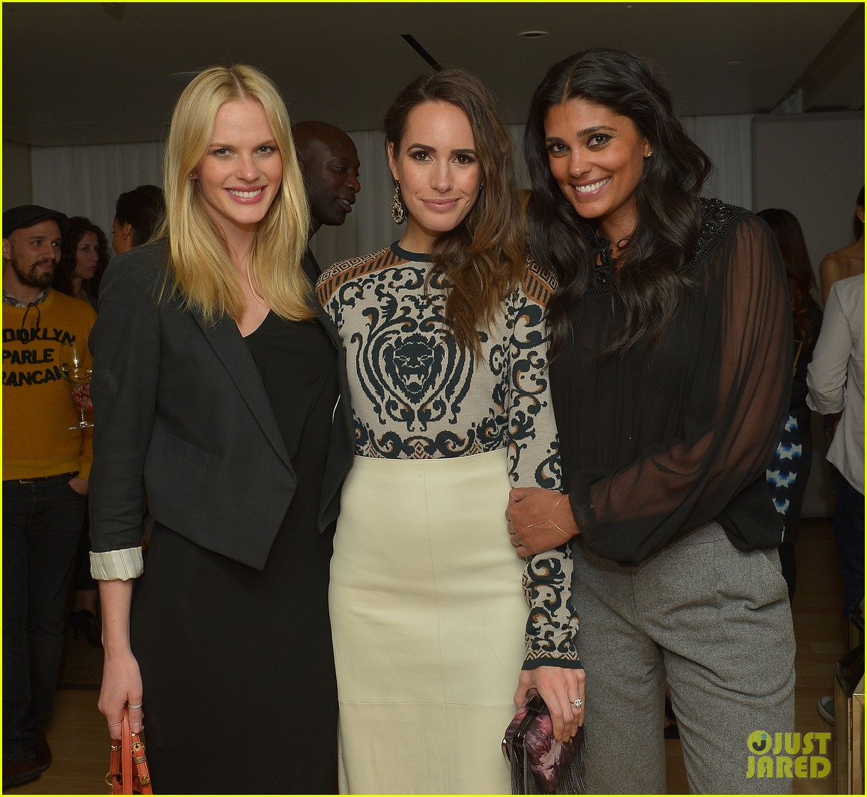 anne v rachel roy louise roe fashion star dinner 12
