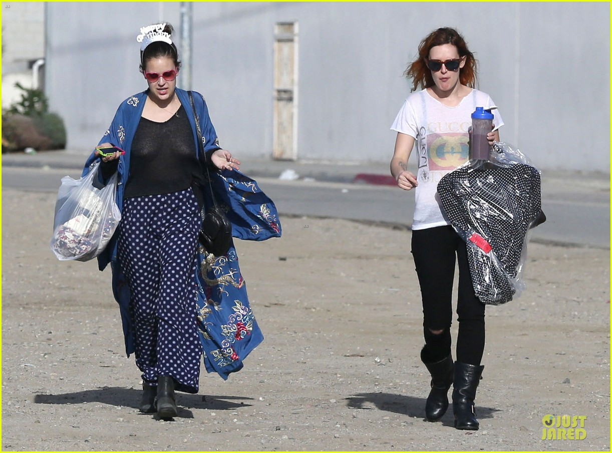 rumer willis super bowl birthday celebration with tallulah 132805030