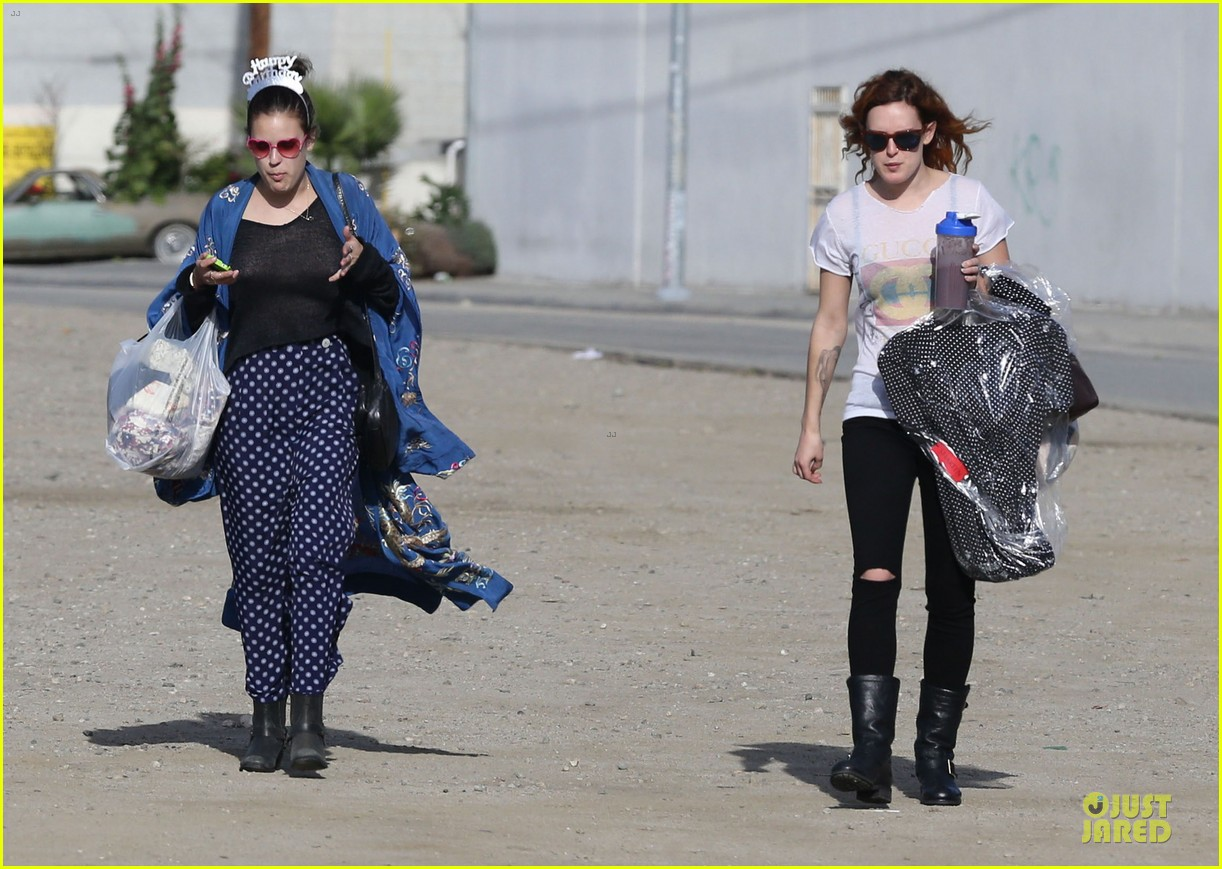 rumer willis super bowl birthday celebration with tallulah 17