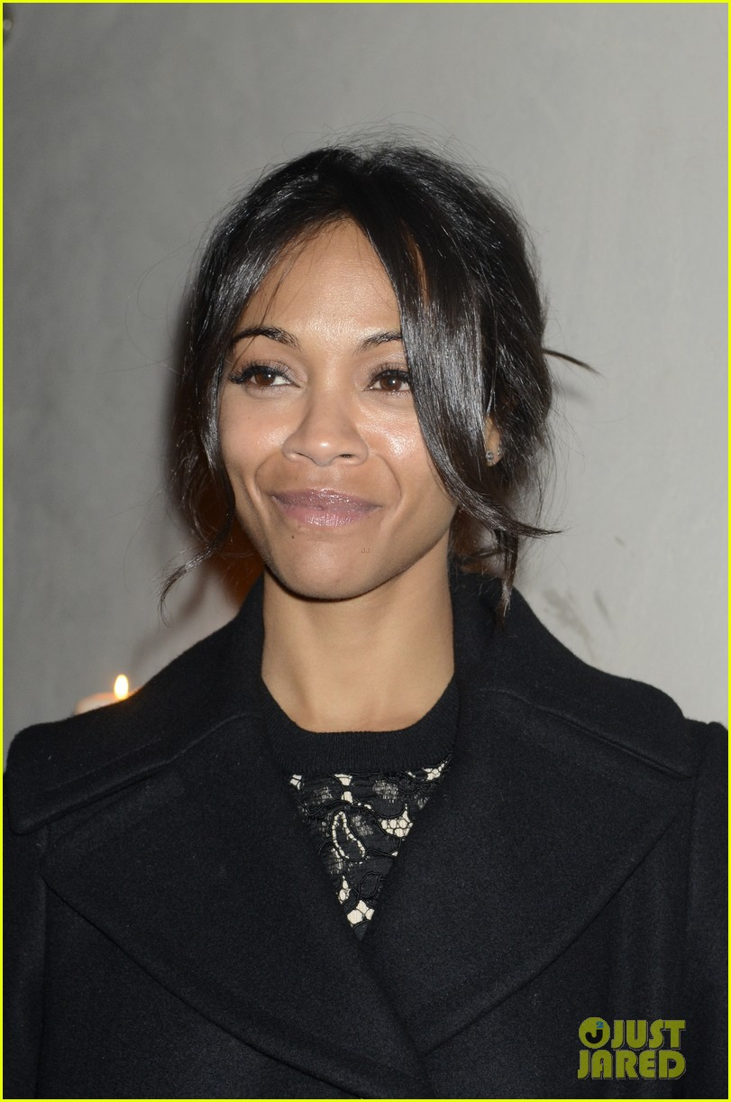 zoe saldana gents launch party 04