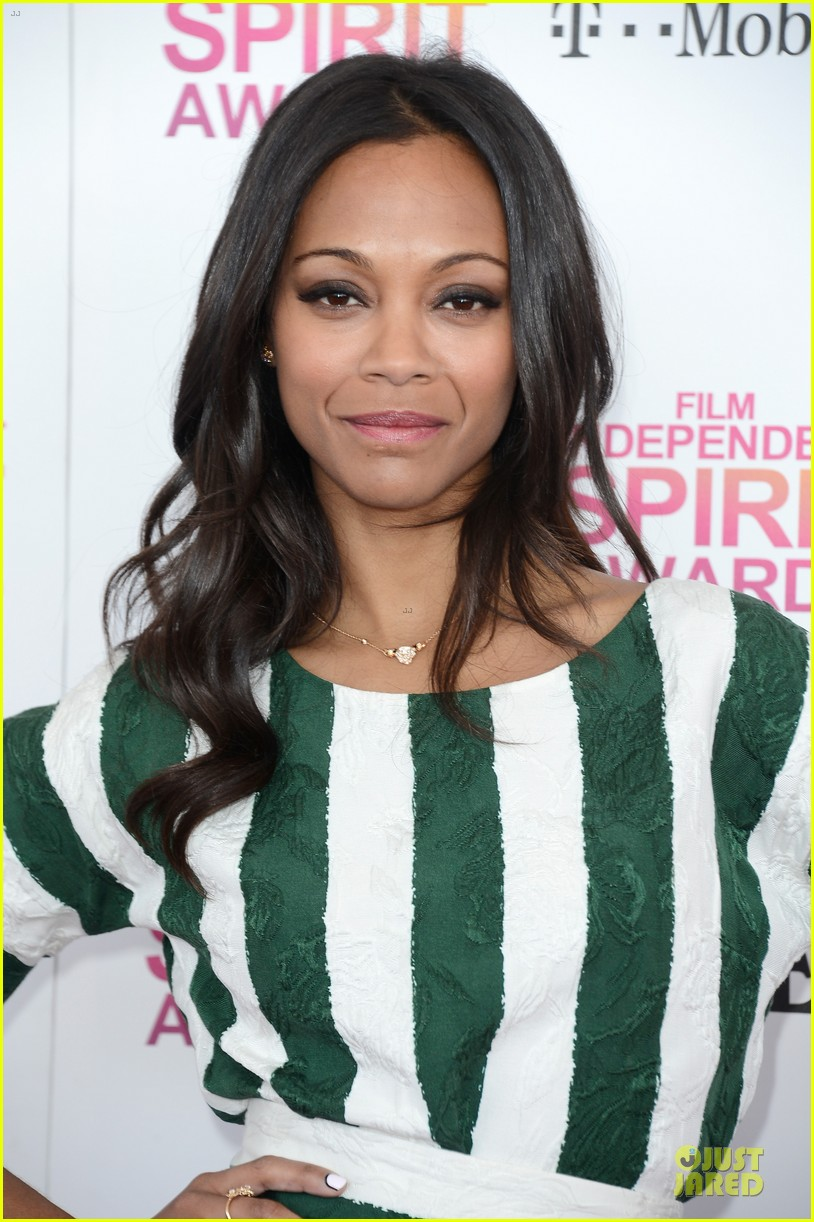 zoe saldana independent spirit awards 2013 042817925