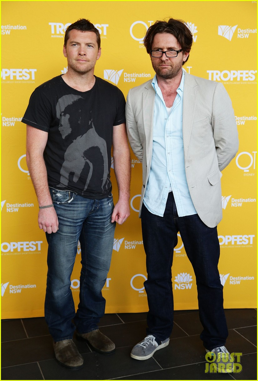 sam worthington tropfest film festival judge 05