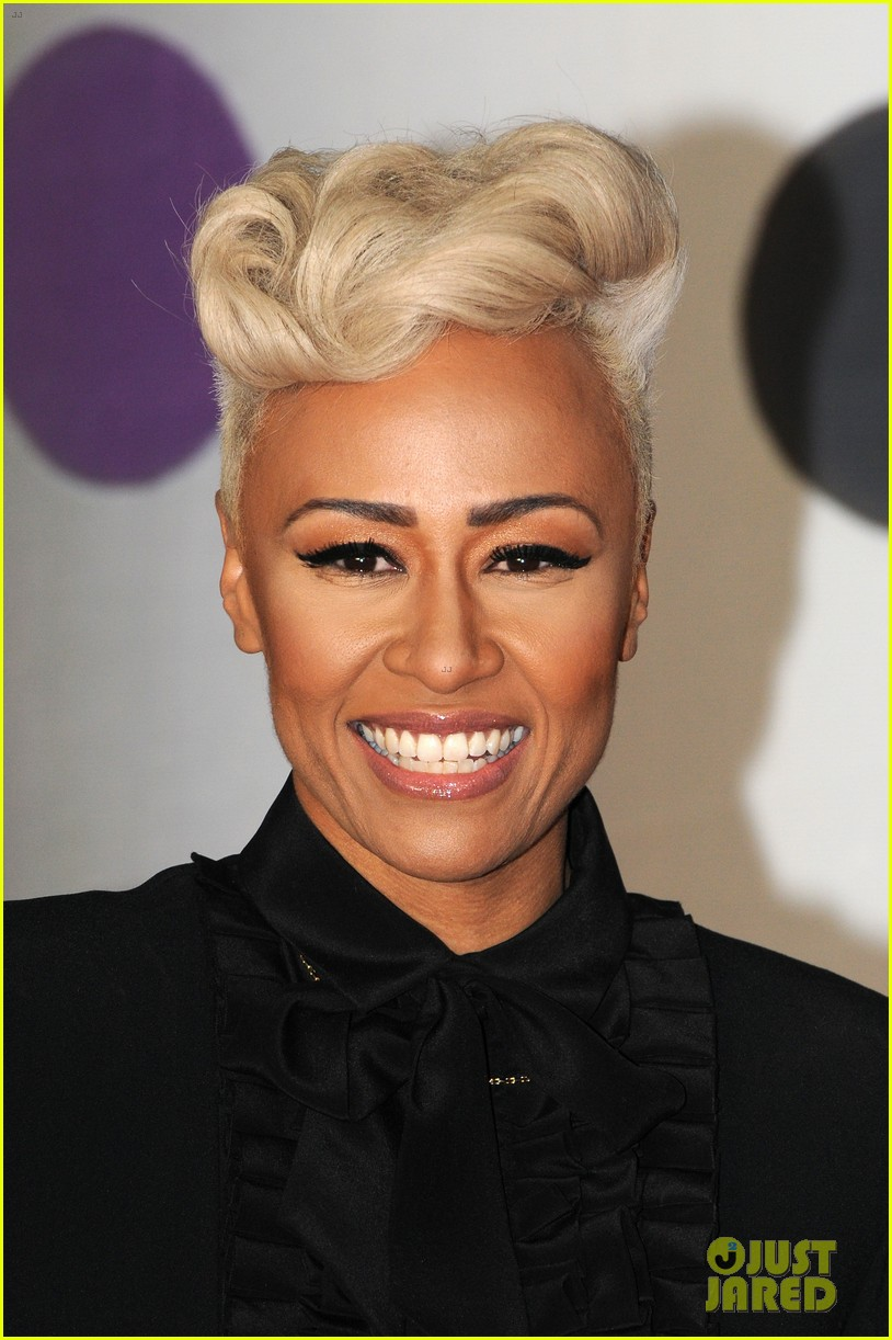 emeli sande brit awards 2013 performance red carpet 09