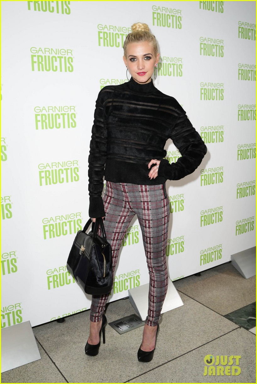 ashlee simpson garnier fructis fashion week celebration 14