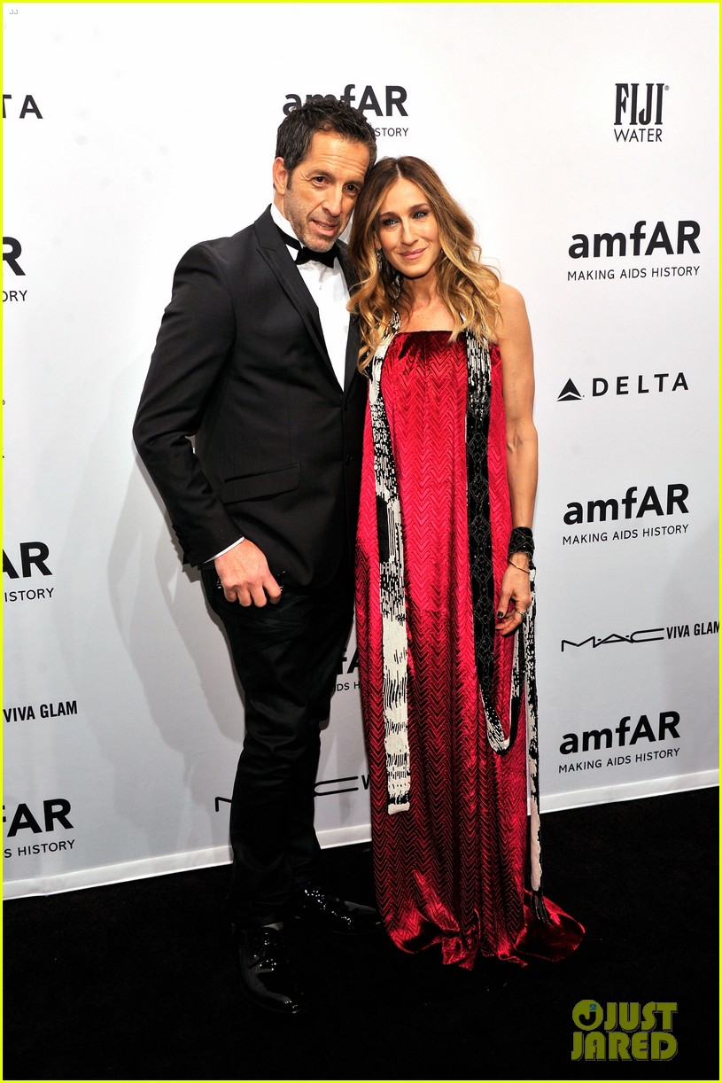 sarah jessica parker amfar new york gala 2013 10