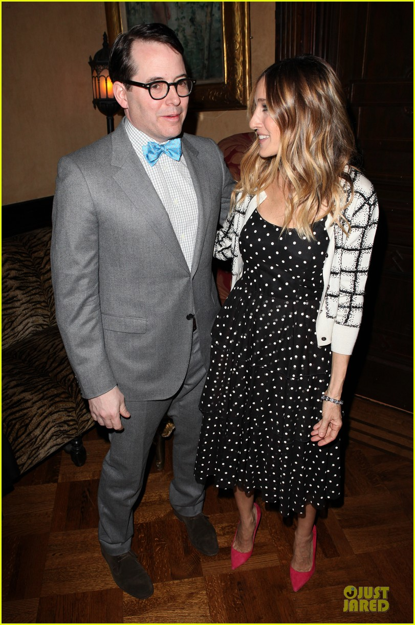 sarah jessica parker matthew broderick love n courage benefit 09