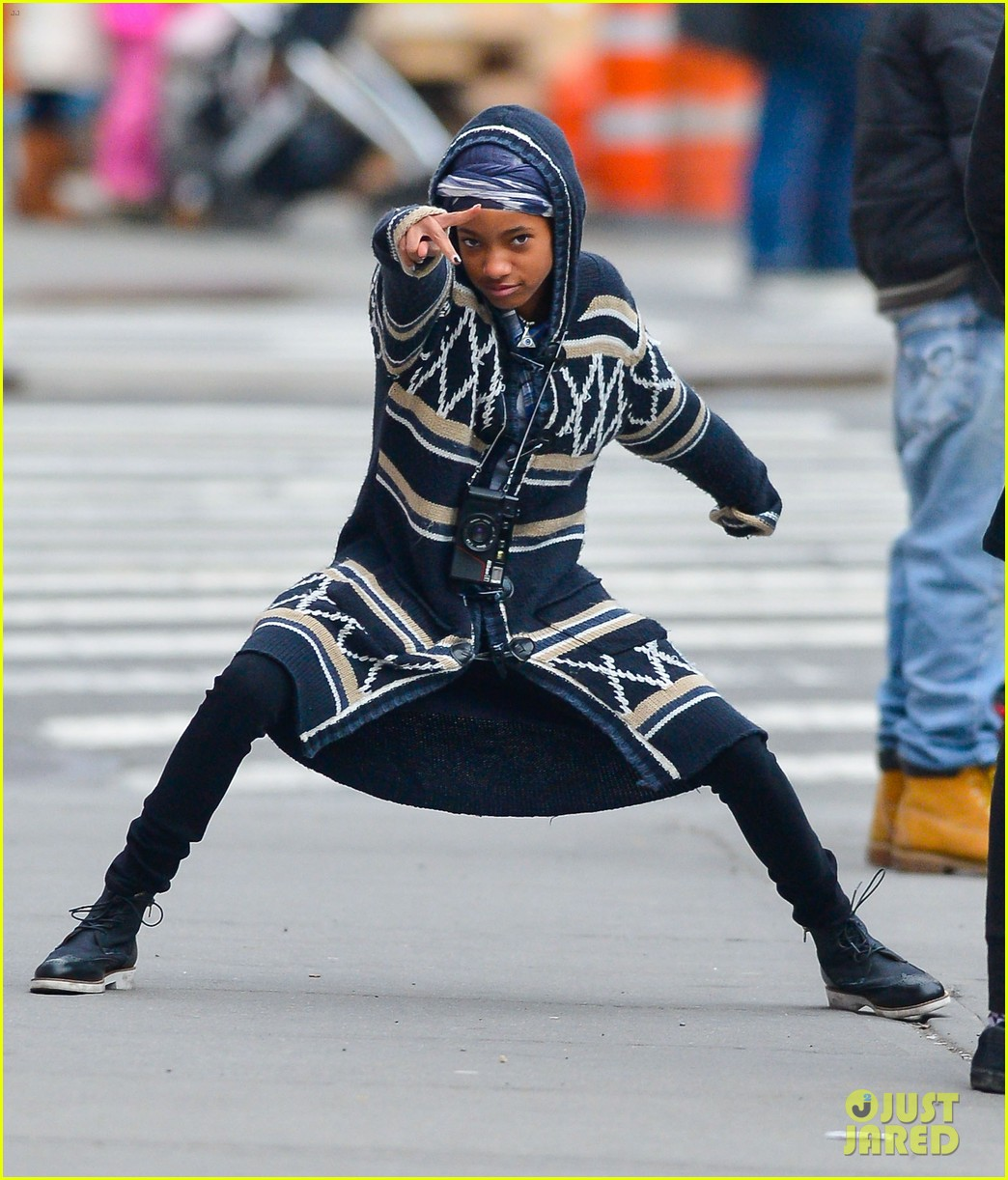 willow jaden smith video shoot in new york 092820972