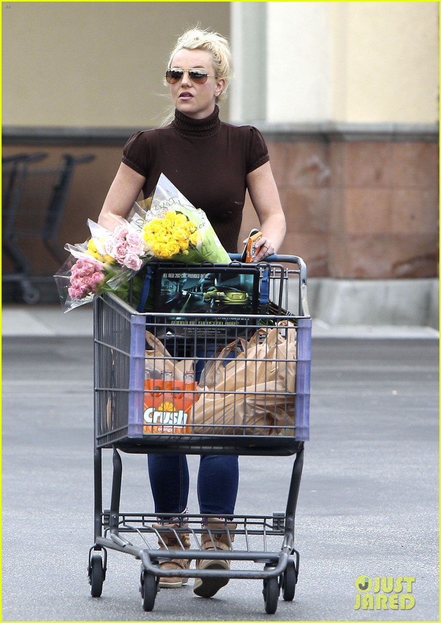 britney spears grocery shopping gal 10