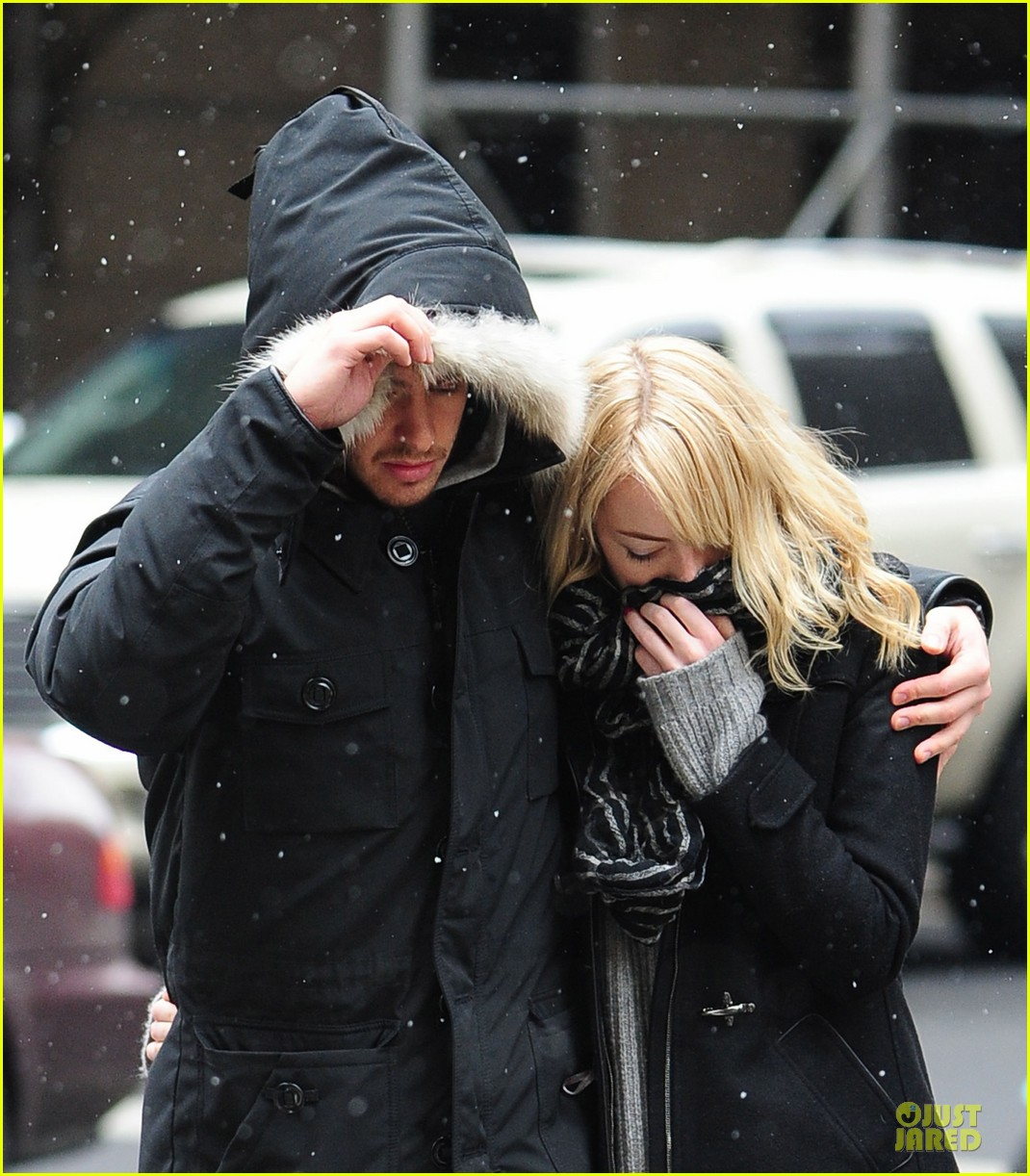 emma stone andrew garfield amazing spider man 2 begins production 02