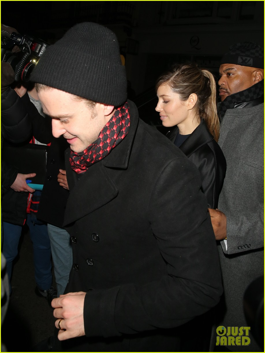 justin timberlake jessica biel brit awards after party 03