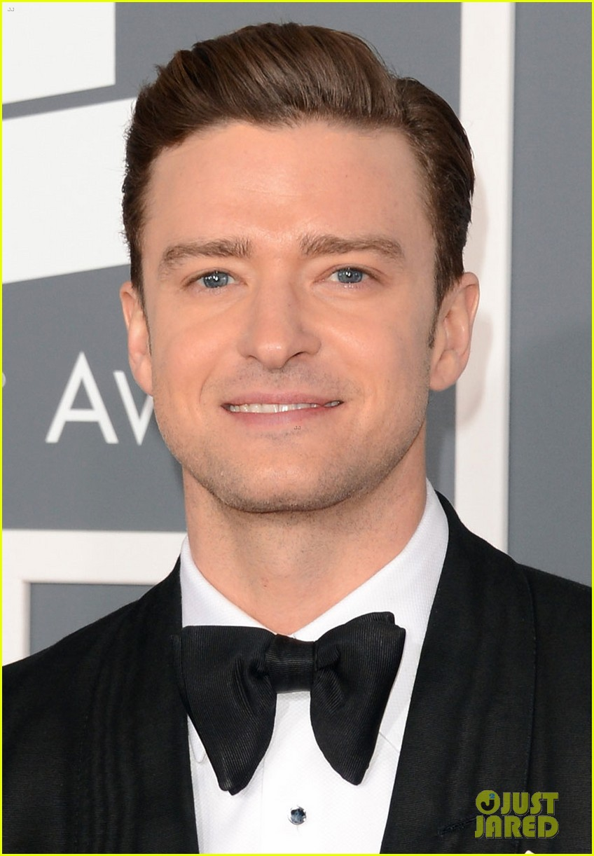 justin timberlake grammys 2013 red carpet 02