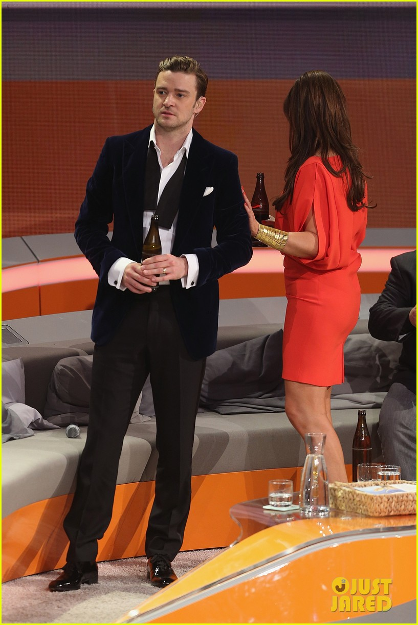 justin timberlake performs mirrors on wetten dass 05