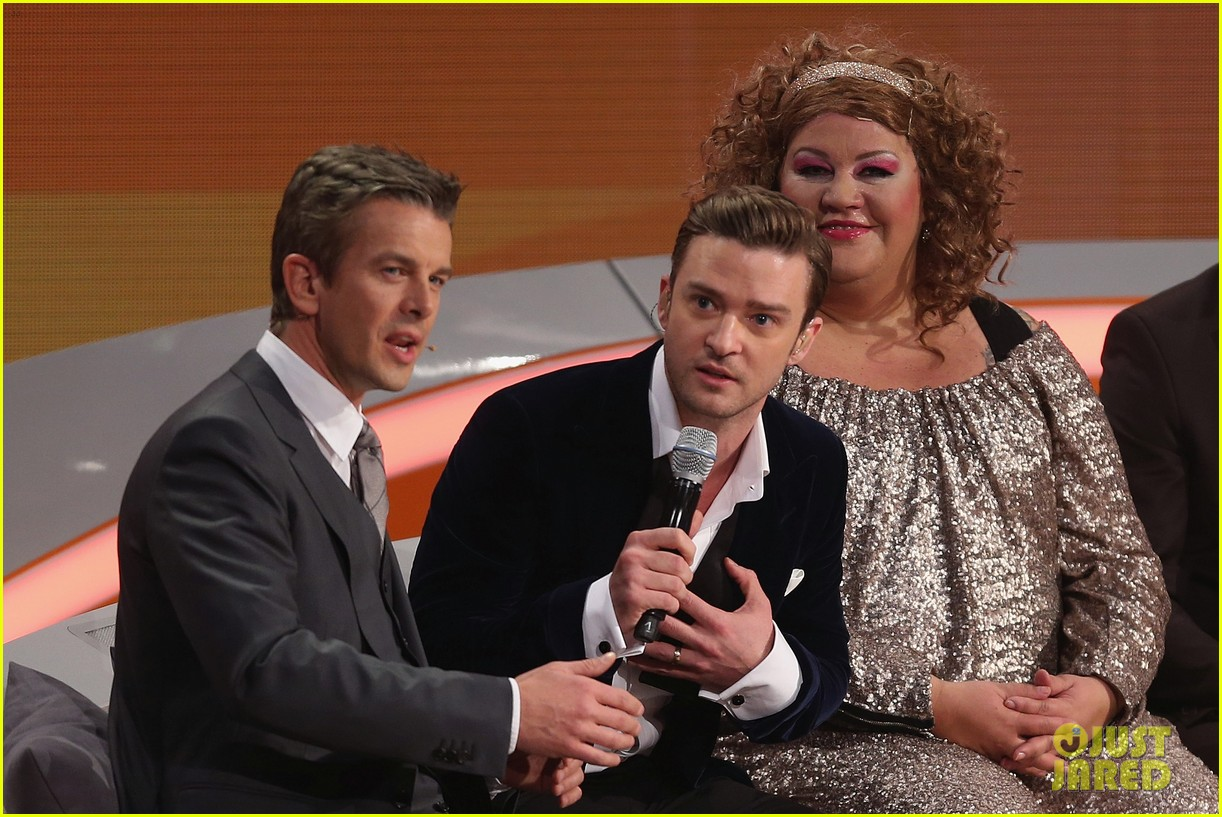 justin timberlake performs mirrors on wetten dass 18