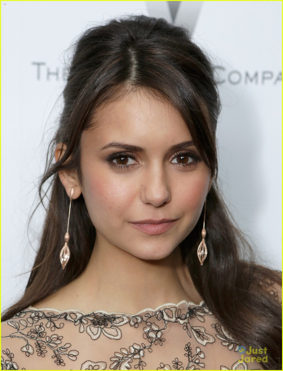 nina dobrev ian somerhalder weinstein pre oscars party with paul wesley 08