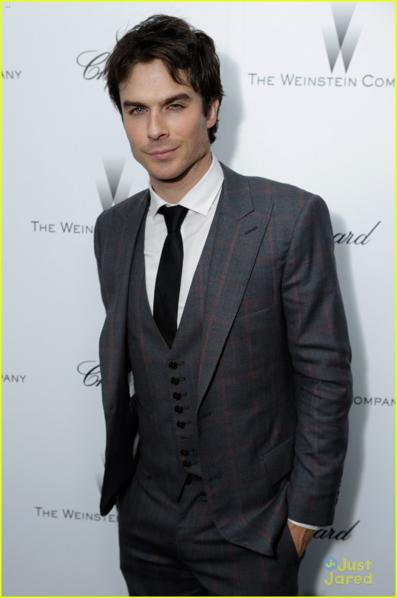 nina dobrev ian somerhalder weinstein pre oscars party with paul wesley 112818565