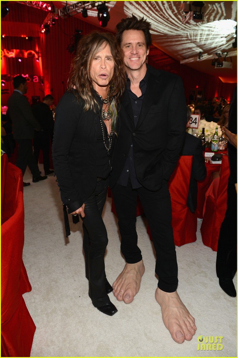 steven tyler randy jackson elton john oscars party 2013 01