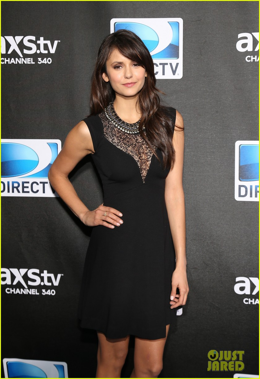 sofia vergara nina dobrev directv super bowl party 27