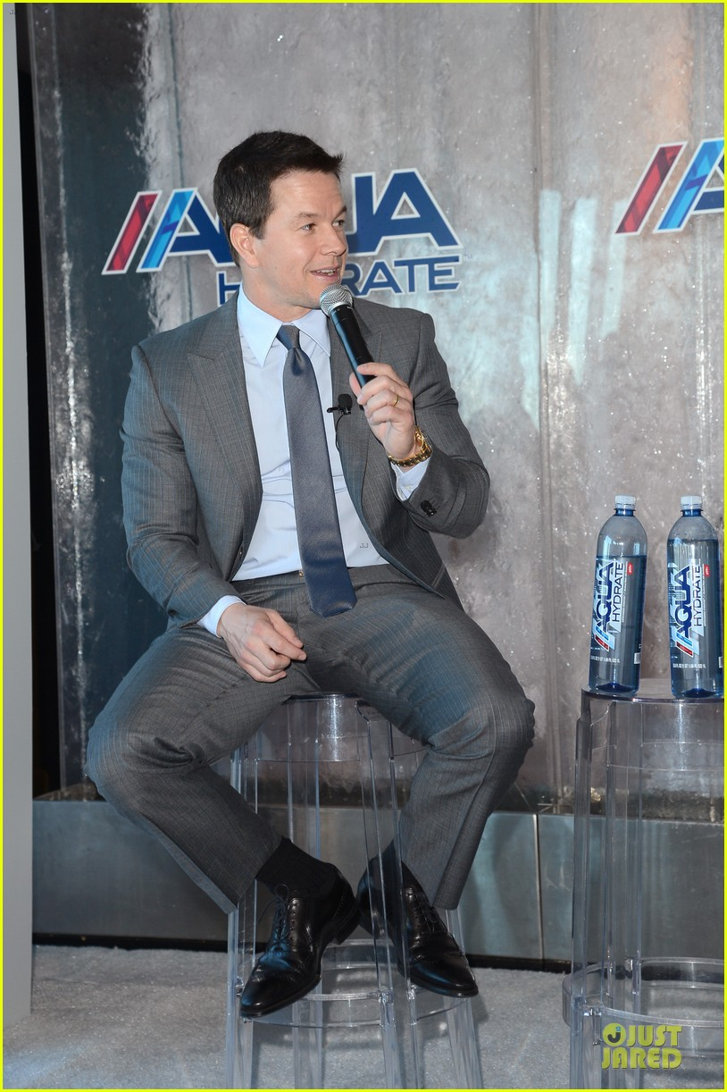 mark wahlberg sean combs aquahydrate press conference 192822028