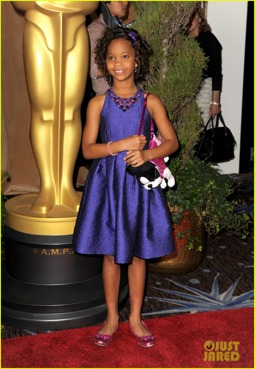 quvenzhane wallis oscar nominees luncheon 2013 01