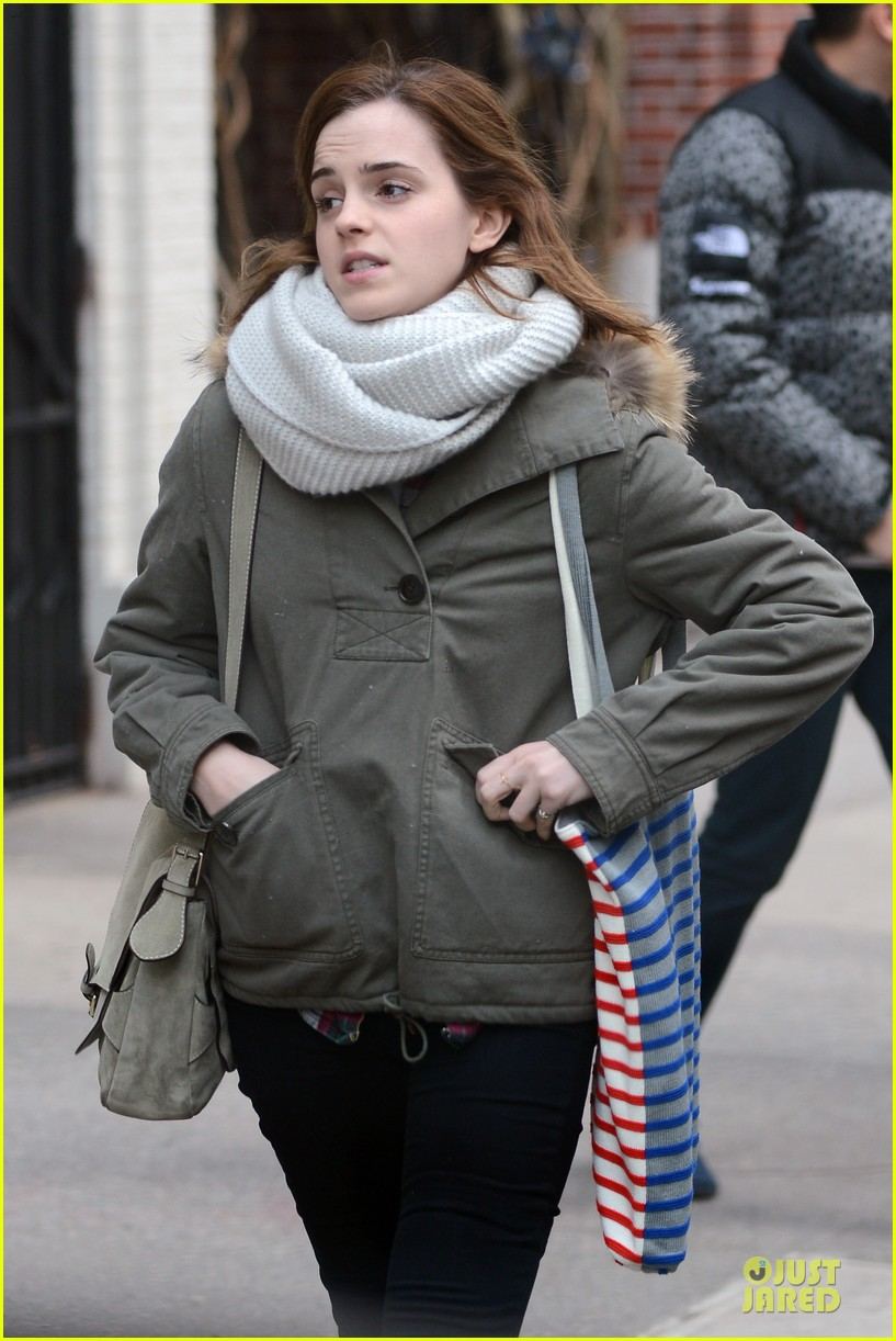 emma watson will adamowicz romantic stroll after valentines day 022813606