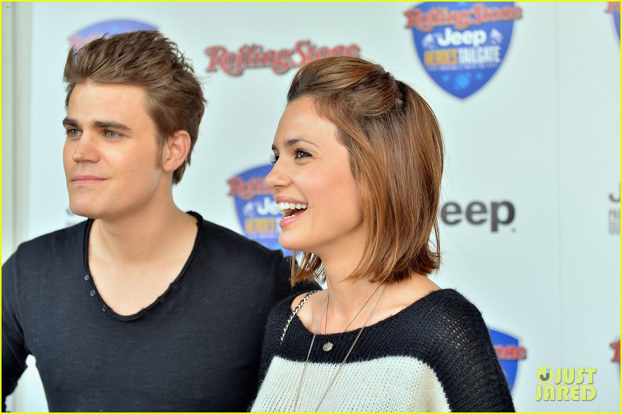 paul wesley torrey devitto super bowl tailgate party 12
