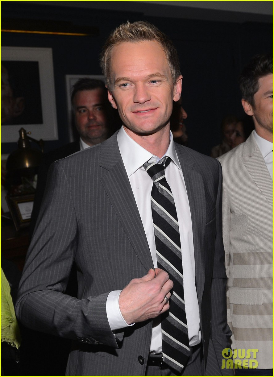 ed westwick neil patrick harris tommy hilfiger store opening 03