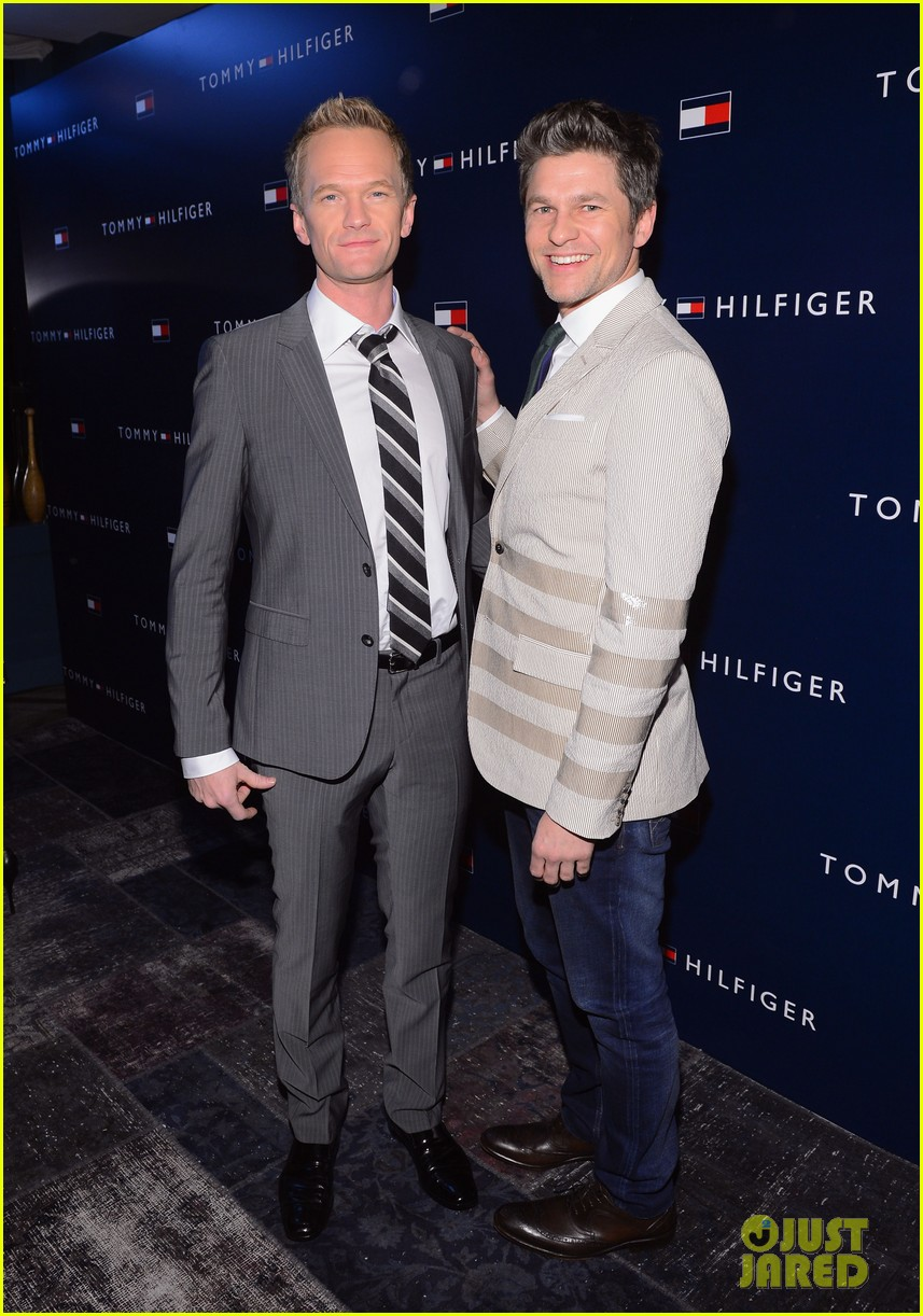 ed westwick neil patrick harris tommy hilfiger store opening 09
