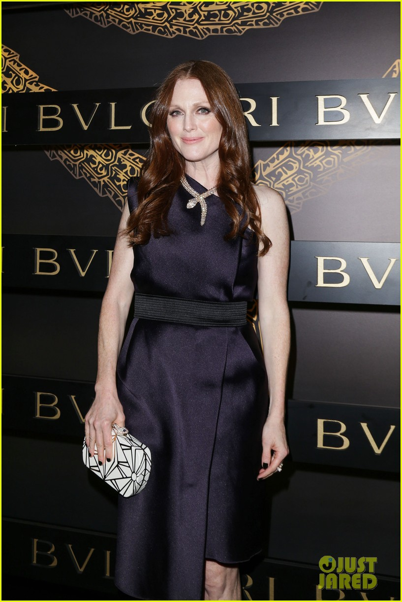 olivia wilde julianne moore bulgari serpenti event 072808477