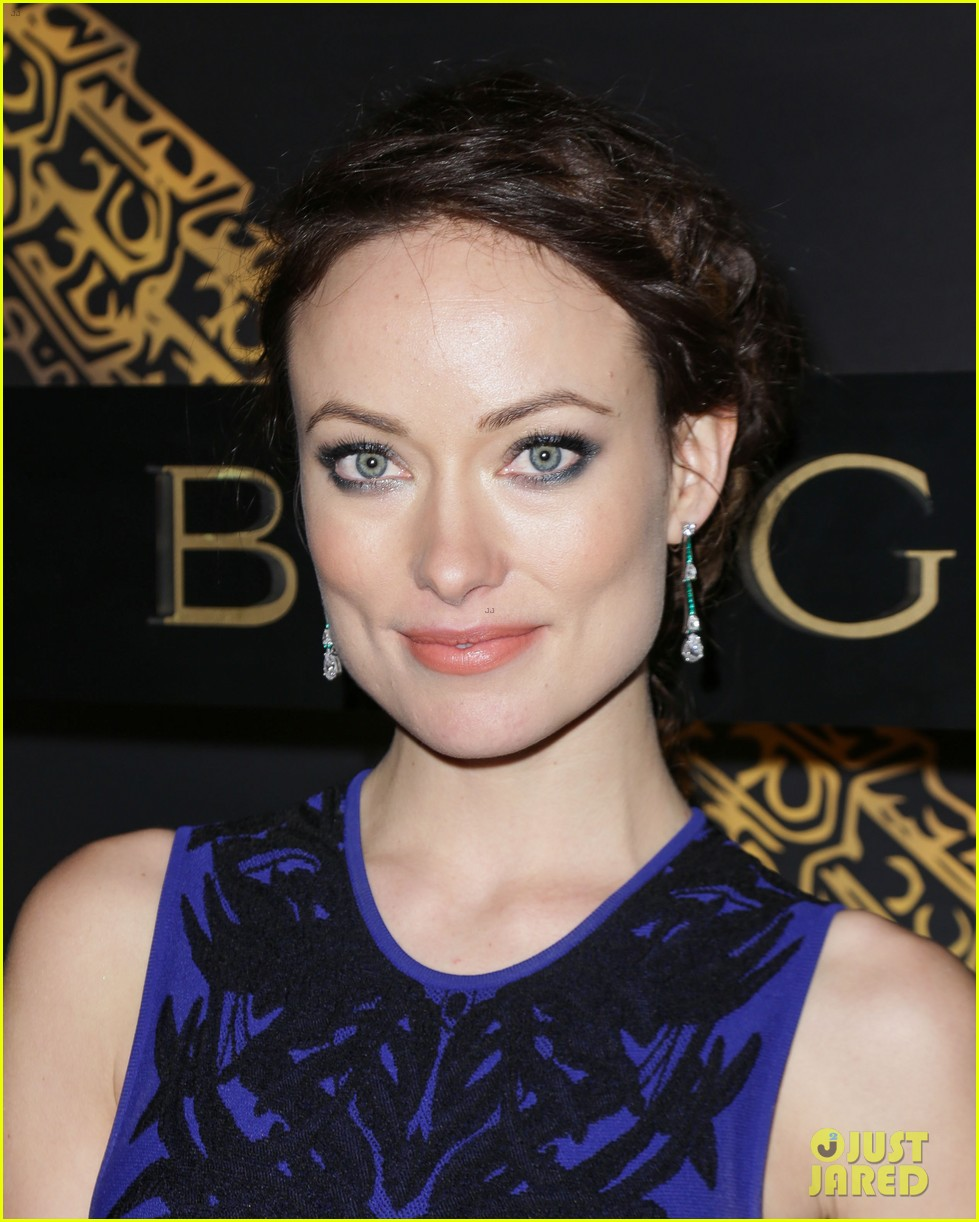 olivia wilde julianne moore bulgari serpenti event 13