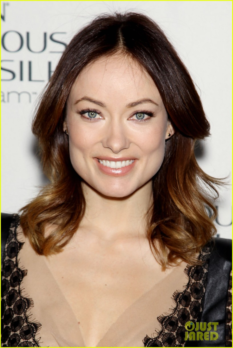 olivia wilde revlon colorsilk buttercreme launch 022806388