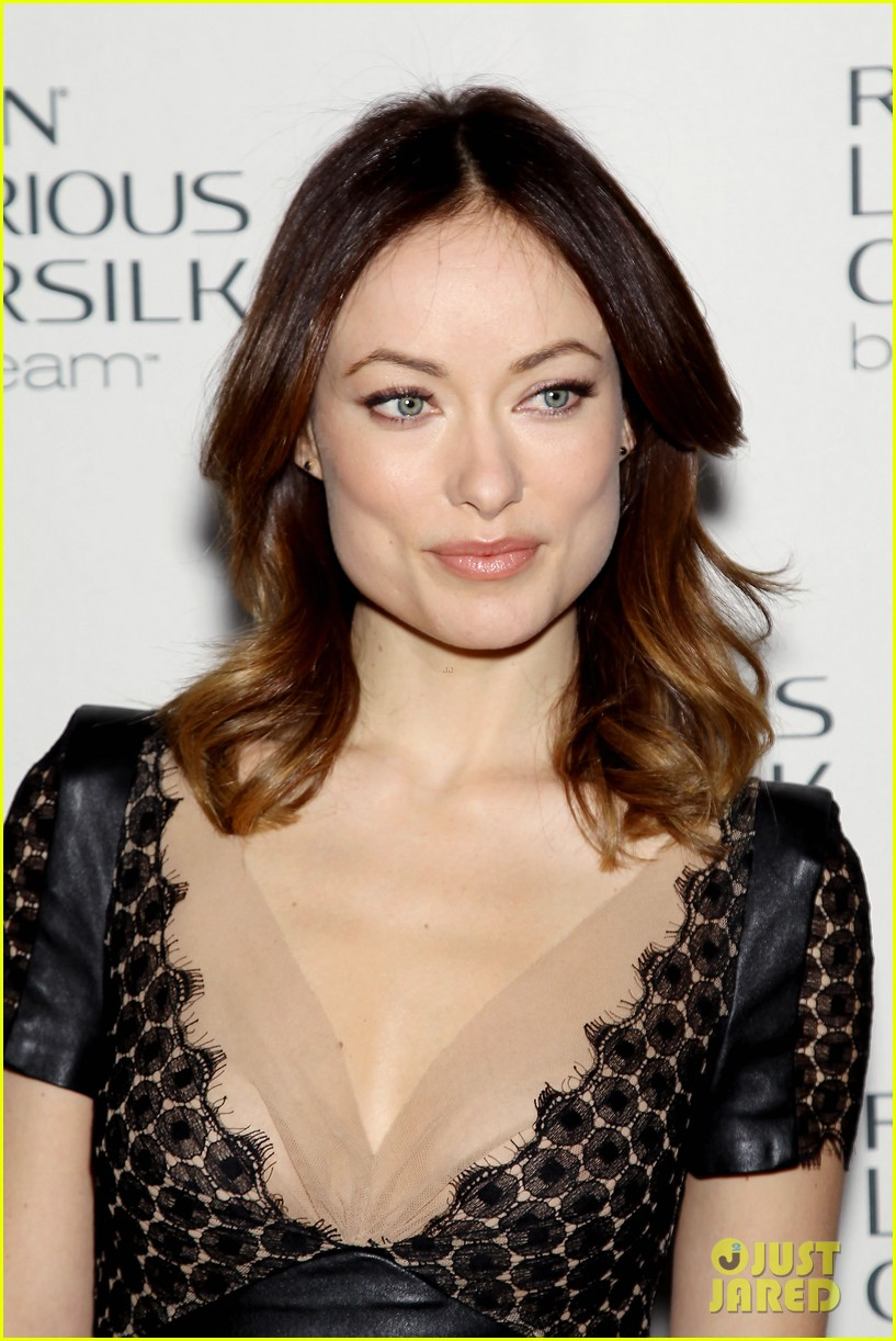 olivia wilde revlon colorsilk buttercreme launch 042806390