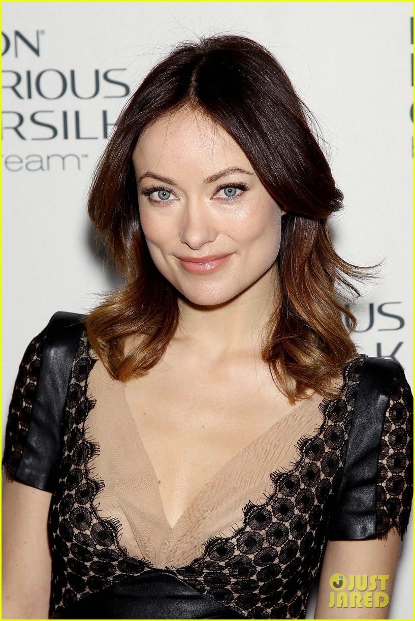 olivia wilde revlon colorsilk buttercreme launch 16