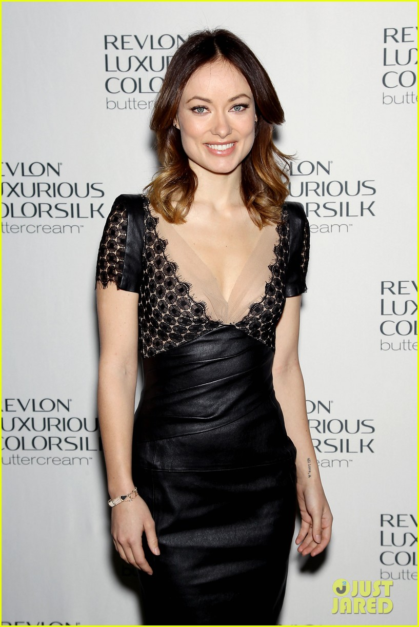 olivia wilde revlon colorsilk buttercreme launch 172806403
