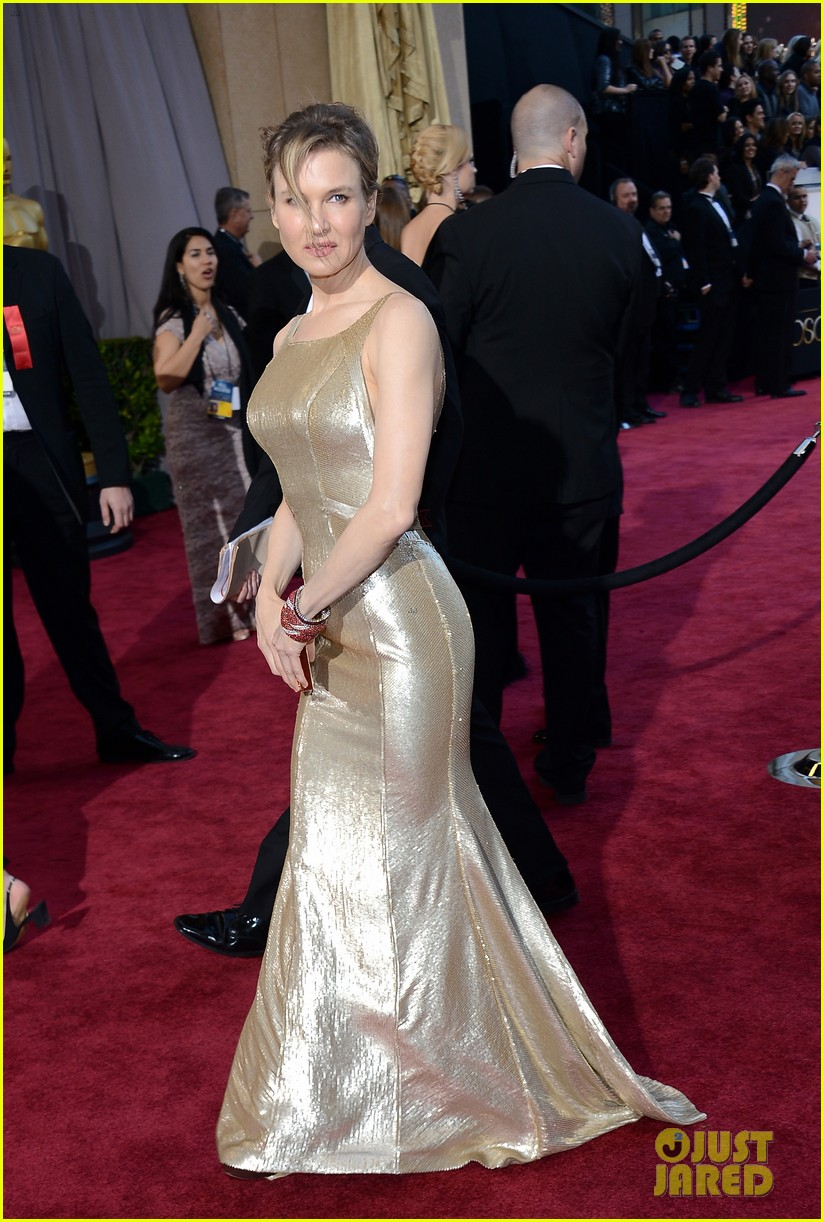 renee zellweger queen latifah oscars 2013 red carpet 10