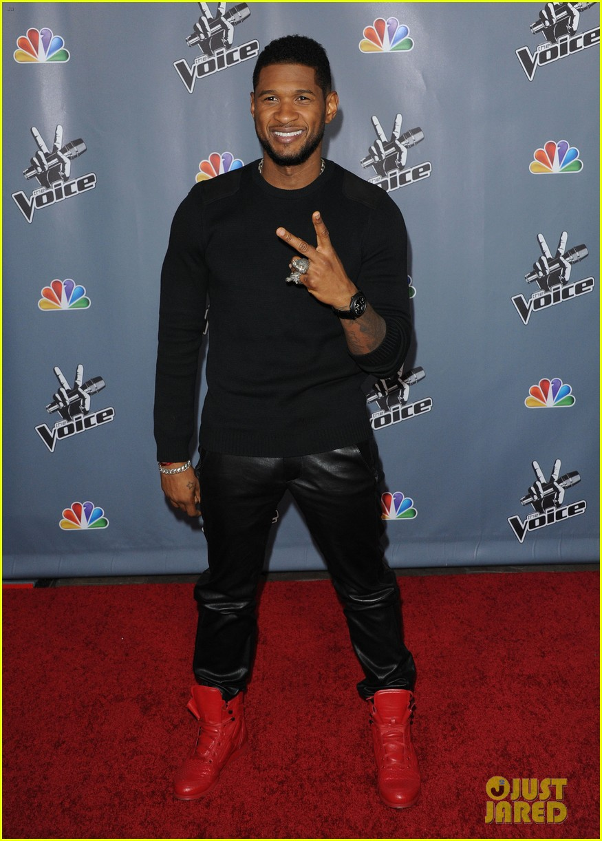 christina aguilera usher the voice season 4 screening 17