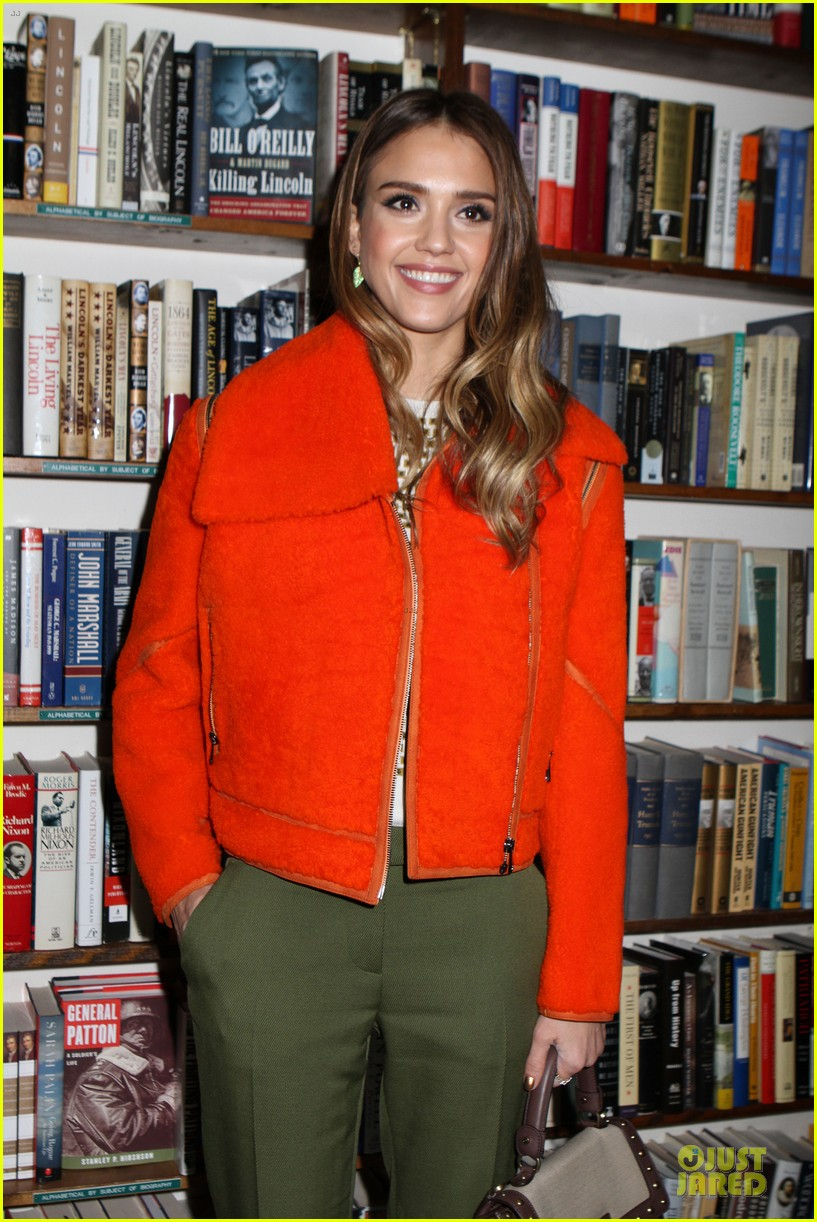 jessica alba honest life book promotion in new york 02