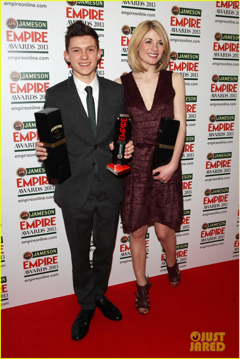samantha barks tom holland empire awards winners 07