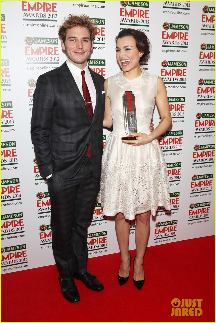 samantha barks tom holland empire awards winners 09