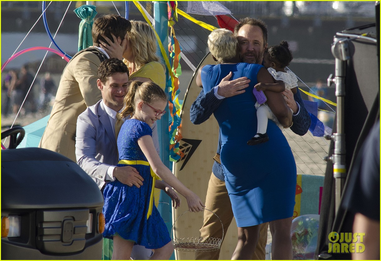 andrew rannells justin bartha new normal beach filming 04