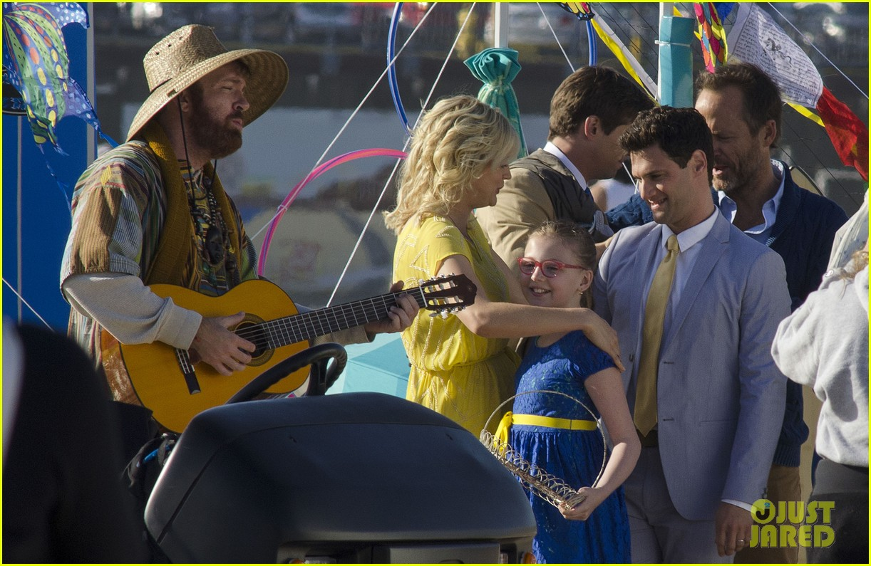 andrew rannells justin bartha new normal beach filming 06