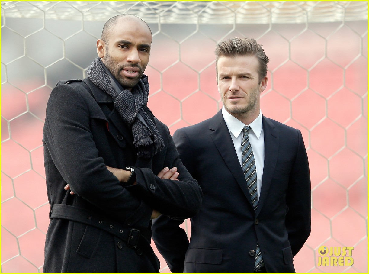 david beckham beijing guoan football club visit 10