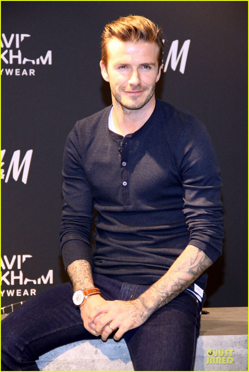 david beckham hm bodywear promotion in berlin 25