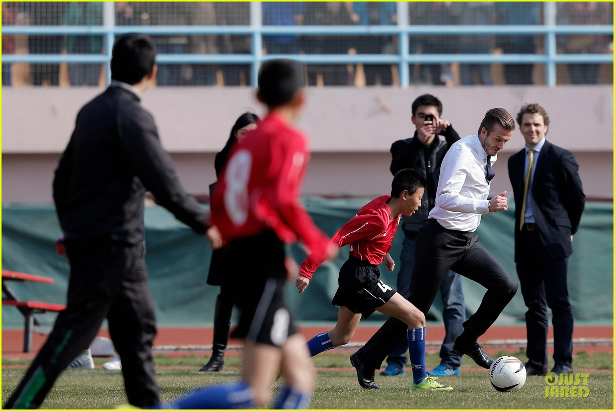 david beckham qingdao jonoon football club 13