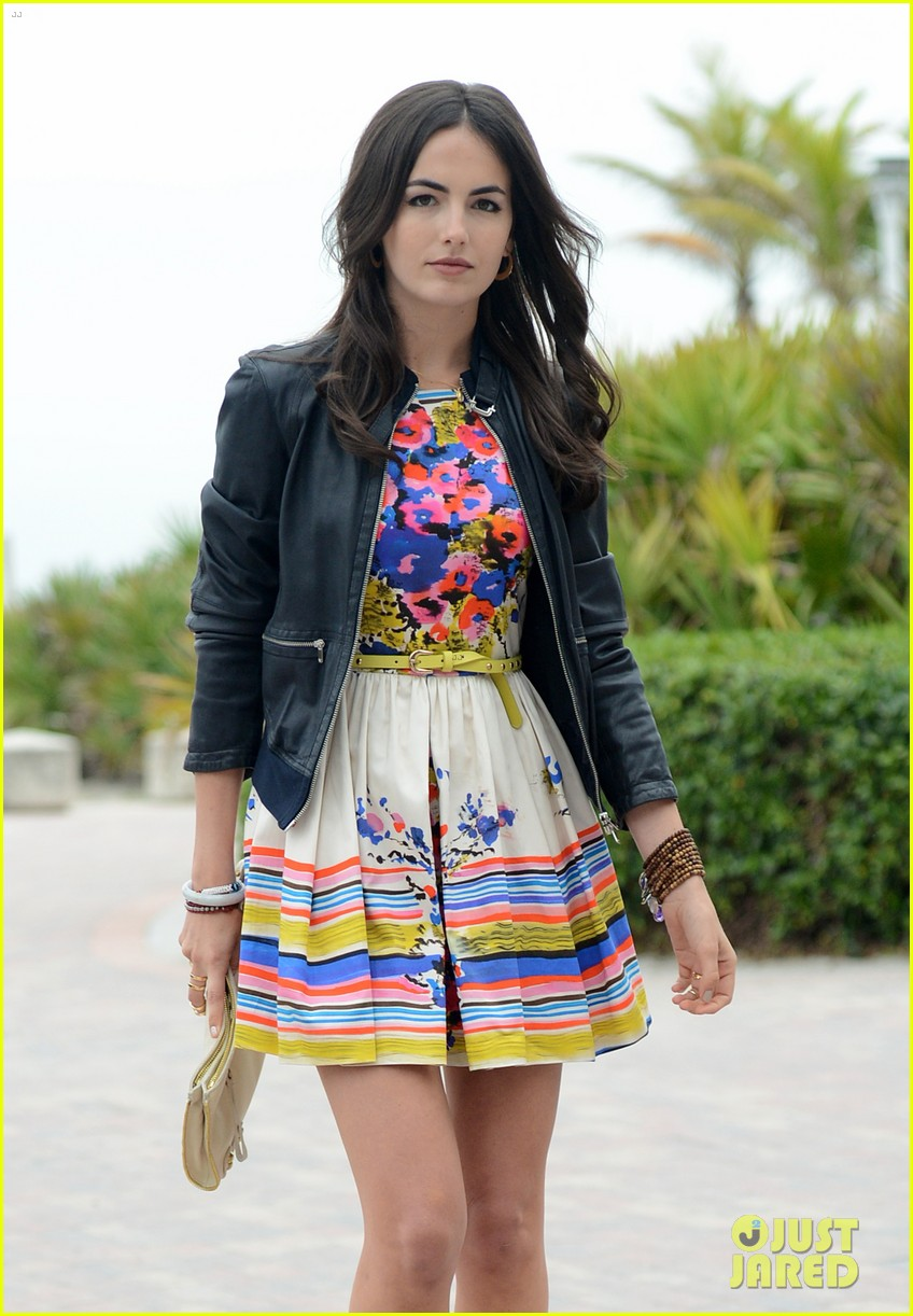 camilla belle cotton 24 hour runway show in miami 09