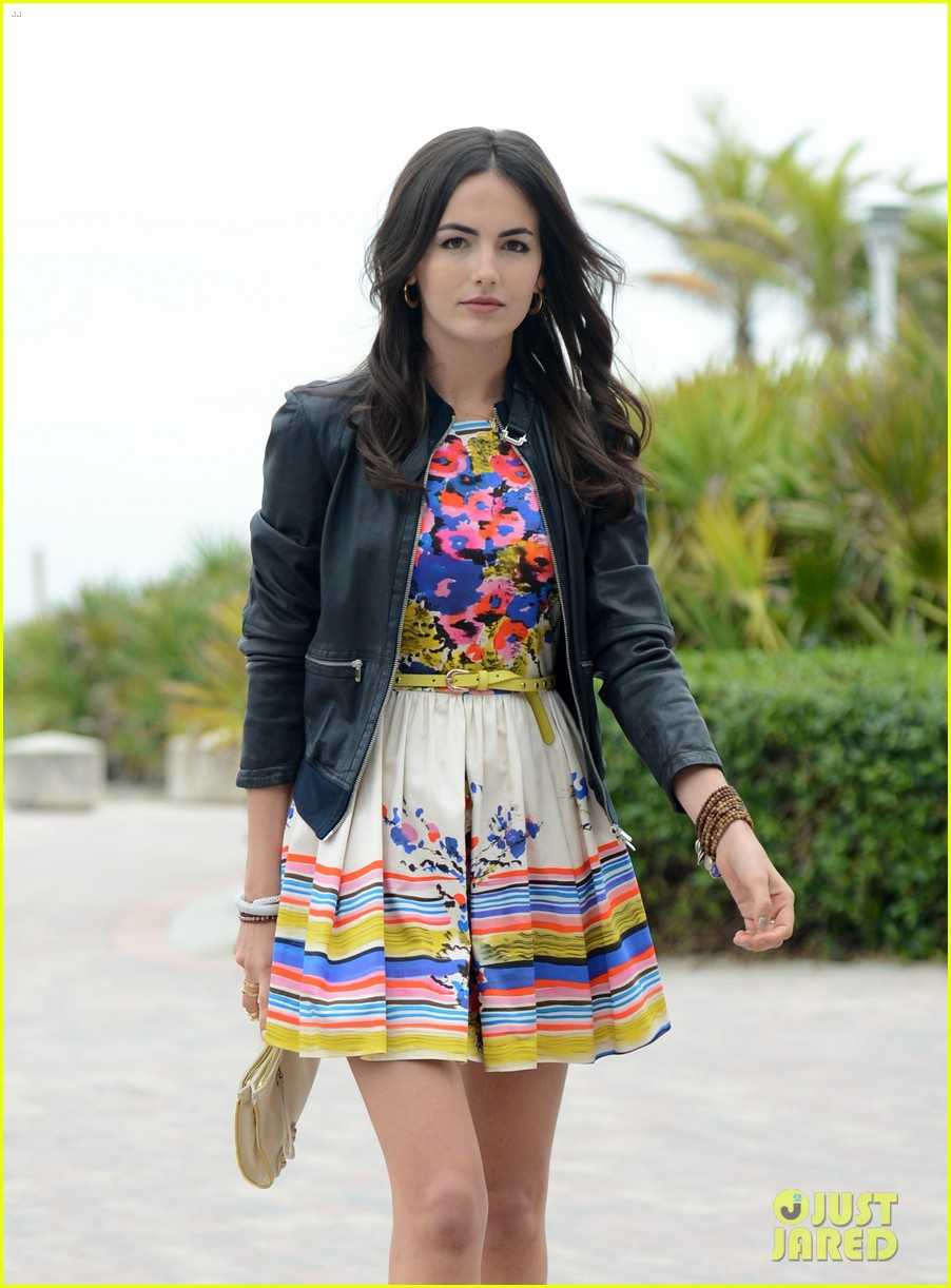 camilla belle cotton 24 hour runway show in miami 10