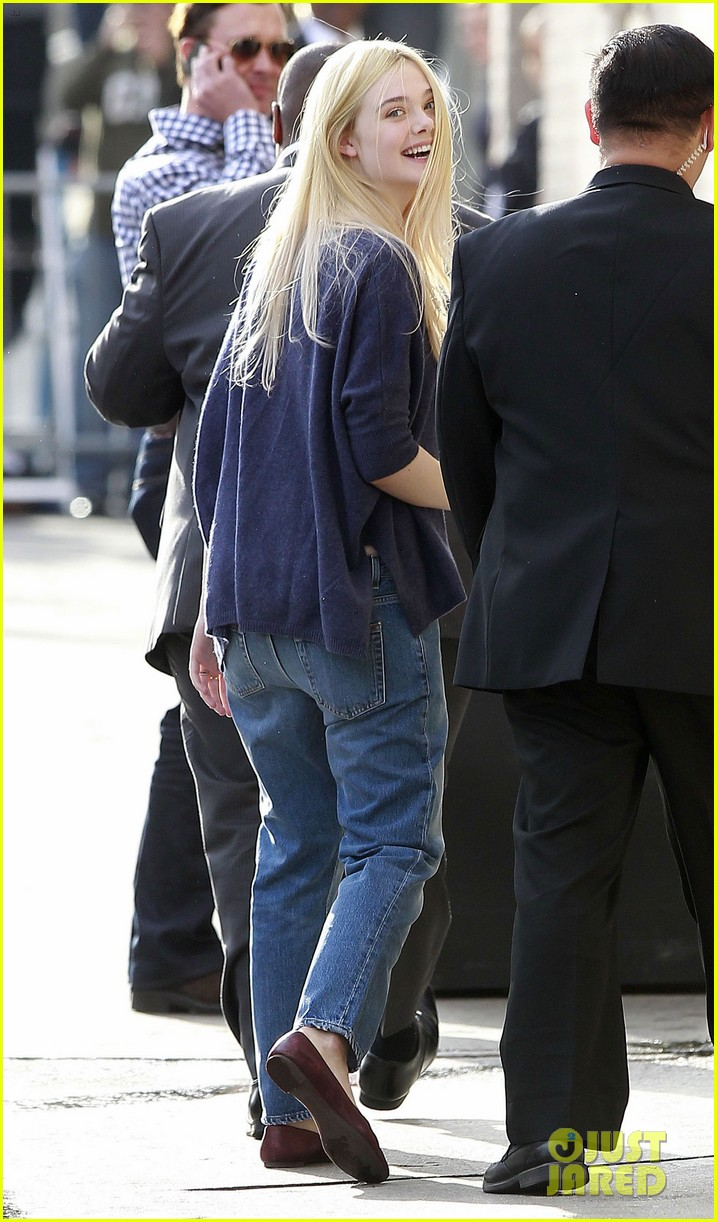 halle berry elle fanning jimmy kimmel live ladies 13