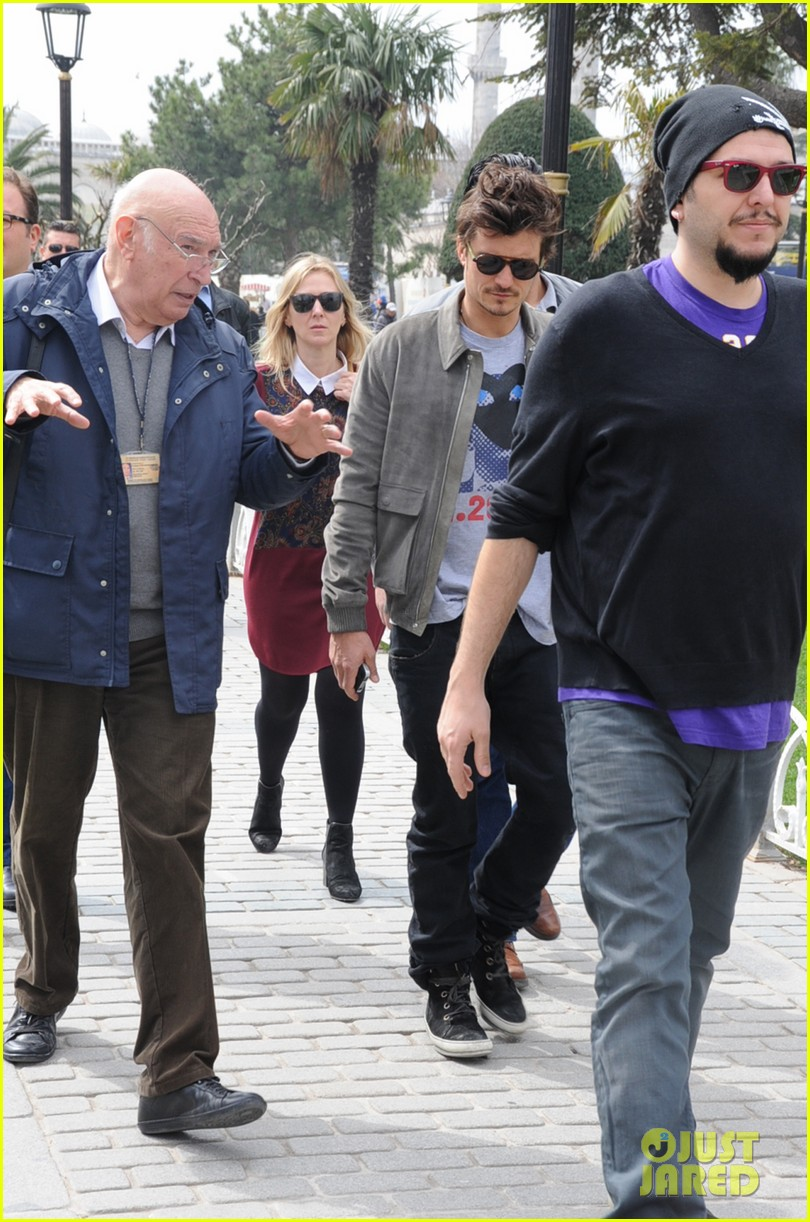 orlando bloom sightseeing in istanbul 122835810