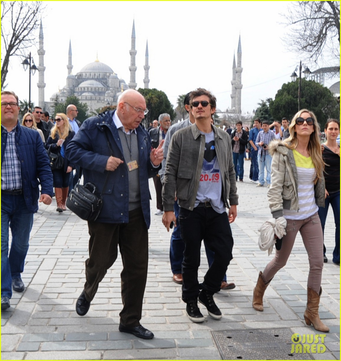 orlando bloom sightseeing in istanbul 142835812